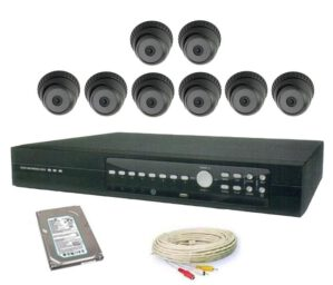 PAKET CCTV 6 CHANNEL EKONOMIS ALL IN